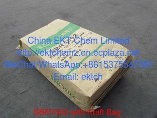 China Synthetic Butadiene Rubber  SBR1502 & SBR1712 Rubber Raw Material Used in shoe sole supplier