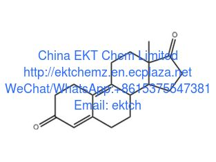 China Progestins Estra-4,9-diene-3,17-dione Chemical name: 19-norandrosta-4,9-diene-3,17-dione  98% purity CAS: 5173-46-6 supplier