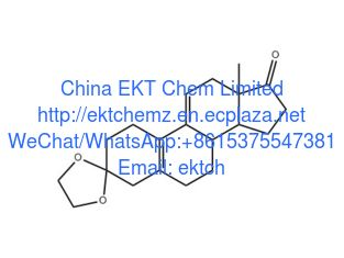 China Progestins and its intermediates 3-Ketal-Estra-5,10-dien-3,17-dione (Ethylene Deltenone) CAS no.: 5571-36-8  Purity 99% supplier