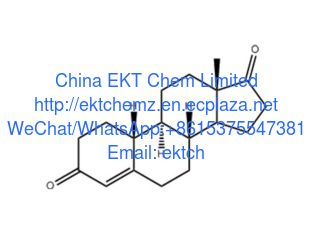 China Progestins intermediates Estra-4-en-3,17-dione (19-Nor AD);Norandrostenedion CAS 734-32-7 Purity 99% supplier